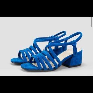 Vagabond Blue Suede shoes